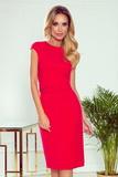 Dámské šaty Numoco 301-2 Tamara červené
