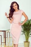 Dámské šaty Numoco 301-1 Tamara růžové