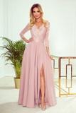Dámské šaty Numoco 309-4 Amber růžové