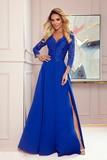 Dámské šaty Numoco 309-2 Amber modré