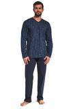 Pánské pyžamo Cornette 310173 Victor modré