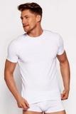 Pánské tričko Brubeck 00990A bílé