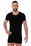 Pánské tričko Brubeck 00990A černé