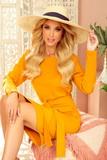 Dámské šaty Numoco 209-8 žluto-oranžové