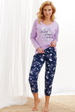 Dámské pyžamo Taro 2316 fialové