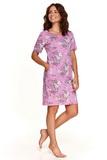 Noční košile Taro 2385 Nessa růžová