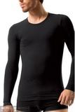 Bezešvé tričko Brubeck LS01120 bílé