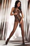 Erotické body LivCo Corsetti Orrienne černé