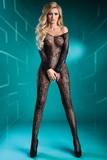 Erotické body LivCo Corsetti Abra černé