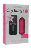 Vibrátor Love to Love Cry Baby 2 ružový