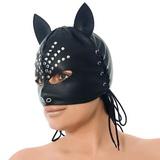 Kočičí maska s ozdobou
