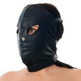 Kožená maska na obličej