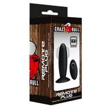 Vibrační anální kolík Crazy Bull Remote Plug