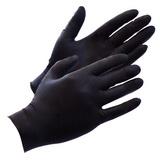 Černé latexové rukavice (100 ks)
